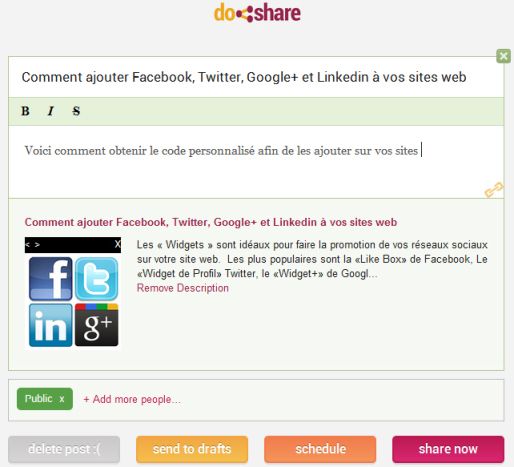Comment programmer vos publications Google+ sur Chrome